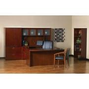 Mayline® Mira Series Wood Veneer Reception Desk Shells