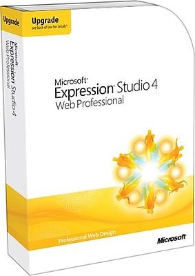 Microsoft Expression Studio 4 Web Professional Upgrade [Boxed]