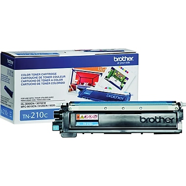 Brother – Cartouche de toner cyanTN210 (TN210C)