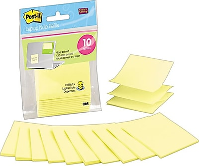 Post-it® Laptop Pop-Up Notes, 3