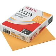Xerox Multipurpose Pastel Colored Paper, Letter, 20 lb., Goldenrod, 500 Sheets/Rm