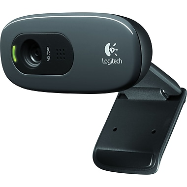 Logitech - Caméraweb HD C270, noire