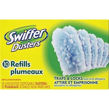 Swiffer – Recharges de linges secs pour Duster, inodores, 10/pqt