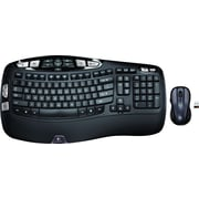 Logitech - Ensembles sans fil Wireless Wave MK550