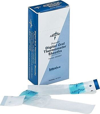 Oral Sheaths for Oral Premier Digital Thermometer, 100/Box