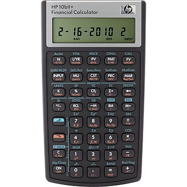 HP® 10BII+ Financial Calculator