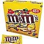 M&M's® Peanut Candy, 1.74 oz. Bags, 48 Bags/Box