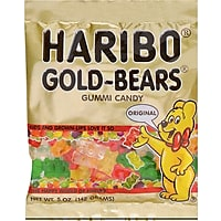 Haribo Gold-Bears Gummi Candy 5-oz. Bag 12-Pack