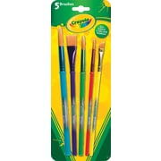 Crayola® Arts and Craft Brushes, 5/Pack