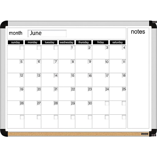 Dry Erase Calendar Staples : The board dudes™ dry erase perpetual calendar quot