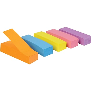 Staples® Page Markers, Assorted Colours