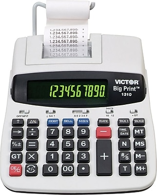 Victor® 1310 Big Print™ Commercial Printing Calculator