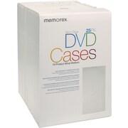 Memorex 32021985 DVD Slim Cases, 25/Pack