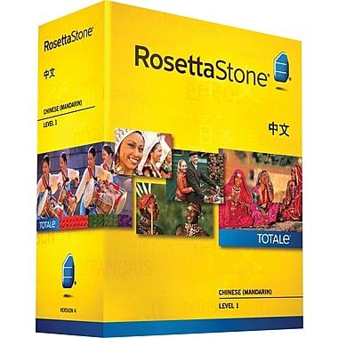 Rosetta Stone – Chinese (Mandarin) v4 TOTALe, Level 1 (Chinois, niveau 1 Manda