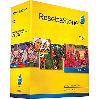 Rosetta Stone Chinese (Mandarin) v4 TOTALe - Level 1, 2 & 3 Set