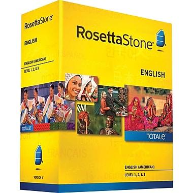 Rosetta Stone® English (American) v4 TOTALe™ - Level 1, 2 & 3 Set [Boxed]