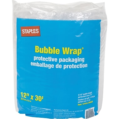 Staples® Premium Bubble Wrap*, 12