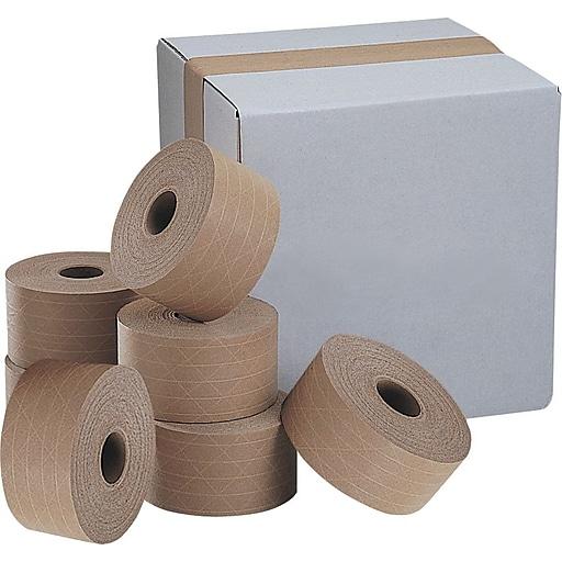 case of kraft reinforced tape staples