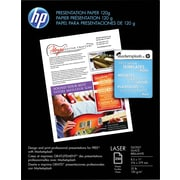 "HP Professional Laser Premium Presentation Paper, 8 1/2"" x 11"", Glossy White, 250/Pk (CG988A)"