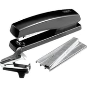 Staples® Desktop Stapler Combo Pack, Black, 20-Sheet Capacity