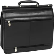 """McKlein USA Halsted Leather Double Compartment Laptop Case, 15"""""""
