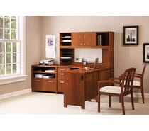 bush office envoy collection hansen cherry - Bush Office Furniture