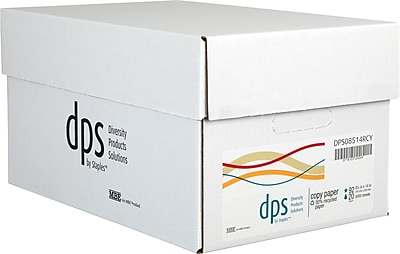 Diversity Products Solutions by Staples® Multiuse Recycled Paper, 20lb., 92 Bright, 8 1/2