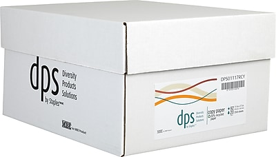 Diversity Products Solutions by Staples® Multiuse Recycled Paper, 20lb., 92 Bright, 11