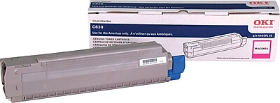 Okidata Magenta Toner Cartridge (44059110)