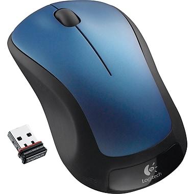 Logitech M310 Wireless Laser Mouse, Ambidextrous, Peacock Blue (910-001917)