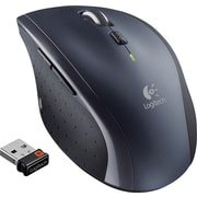 Logitech M705 Marathon Wireless Laser Mouse, Black (910-001935)