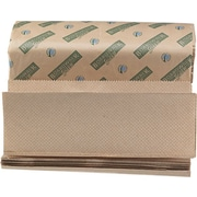 Boardwalk® Green Seal Multifold Towels, Natural, 1-Ply, 9 1/8 x 9 1/2, 4,000/Ct