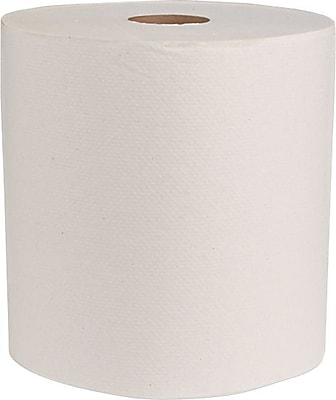 Boardwalk® Green Universal Roll Towels, Natural White, 1-ply, 8