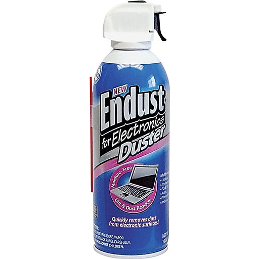 Endust For Electronics Compressed Air Duster, 10oz Can
