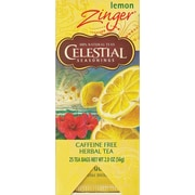 Celestial Seasonings® Lemon Zinger® Herbal Tea, 25/Bx
