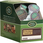 Keurig® K-Cup® Green Mountain® Extra Bold Coffee Sampler, Assorted Flavors, 22/Pack