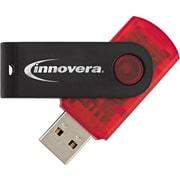 Innovera Portable USB 2.0 Flash Drive, 16GB
