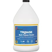 Natl Ind For Blind 7930015552901 TriBase Multi-Purpose Cleaner, Yellow, 1 gal. Bottle, 4/Bx (NSN5552901)