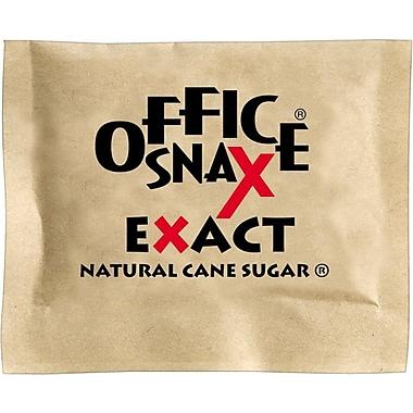 Office Snax® Natural Cane Sugar, 0.035 oz, 2000/Carton (000063)