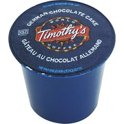Keurig® K-Cup® Timothy's® German Chocolate Cake Coffee, Regular, 24/Pack