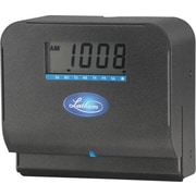Lathem Direct Thermal Print Punch Card Time Clock, Black (800P)