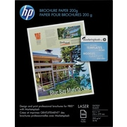 "HP Brochure Paper 200g 8 1/2"" x 11"" Glossy White 100/pack (Q6608A)"