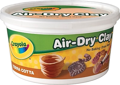 Binney & Smith Crayola® Air-Dry Clay, Terra Cotta, 2.5 lb.