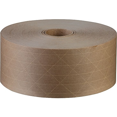 Glass-Reinforced Kraft Sealing Tape, Heavy Grade, 3