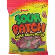 Sour Patch Kids Soft & Chewy Candy, Watermelon, 5 oz., 12 Bags/Box (JAR1506224)