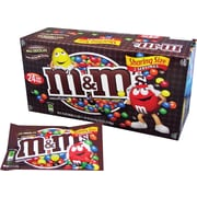 M&M's® Milk Chocolate Candies King Size Bag, 3.14 oz. Bags, 24 Bags/Box