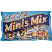 Mars® Assorted Minis, 17.5 oz. Bags, 12 Bags/Box