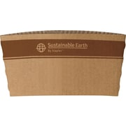 Sustainable Earth by Staples® Paper Cup Sleeve, Brown, 500/Pack