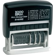 "Cosco Self-Inking Professional Date Stamp,  1 1/8"" x 2"", Up to 4 Lines"