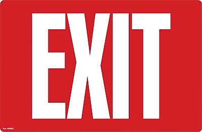 Cosco® Exit Sign - Glow in the Dark, 8